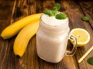 Домашно лимоново смути с банан